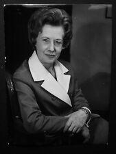 """Barbara Castle MP Labour Blackburn- Original 1970's Press Agency Photo 8 x 6"""" 1"""