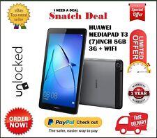 HUAWEI MEDIAPAD T3 7 INCH TABLET 16GB 1GB RAM 3G/WIFI SPACE GREY BRAND NEW