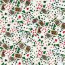 Gail C6274 Green Tossed Cards Timeless Treasures 100% Cotton Fabric by the Yard