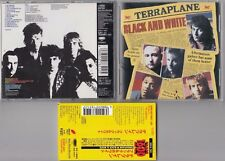 TERRAPLANE - BLACK & WHITE CD 1997 JAPAN OBI ESCA7651 THUNDER
