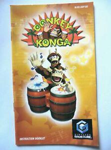 76915 Instruction Booklet - Donkey Konga - Nintendo Gamecube (2004) IM-DOL-GKGP-