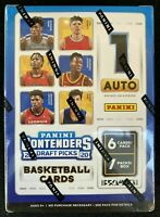 2020 Panini Contenders Draft Picks Basketball Blaster box -Zion Ja auto prizm