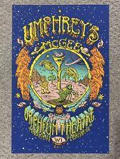 Umphrey'S Mcgee Madison Wi 2013 Original Silkscreen Concert Poster Welker Signed