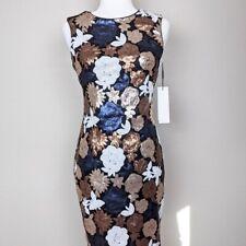 Calvin Klein Sequin Sheath Dress Size 2