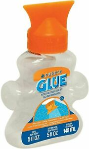 MasterPieces Puzzle Glue Jigsaw Shaped Bottle, Spreader Included, 5 fl oz