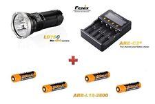 Fenix LD75 C + 4 Fenix ARB-L2 Akku´s + Fenix ARE-C2 Ladegerät Neu OVP