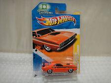 2011 Hotwheels '71 Challenger Green Lantern #12 New Models