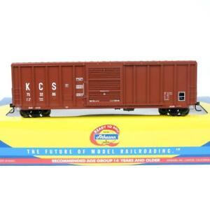 Athearn HO Scale Kansas City Southern KCS PS 5344 Cu Ft 50' Box Car 71894 Rare