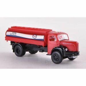 Brekina 85318 1/87 Ho Truck Berliet Glr 8 Tank Esso Car Miniature
