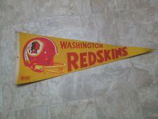 """Vintage Washington Redskins NFL Officially Licensed Product Felt Pennant 29.5"""""""