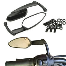 Motorcycle Scooter Side Rear View Mirrors Modification Mirror 8mm 10mm Universal