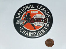 1989 San Francisco Giants Earthquake World Series, National League Champs Button