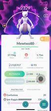 Pokemon Go Trader Account - Mewtwo  Legendary Pokémon Change! Super Rare!