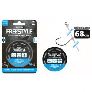 Spro Freestyle Reload Drop Shot Rig 0,18mm 68cm 2,8kg 4590011 Dropshot Fertig