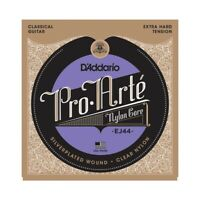 D'Addario EJ44 Pro-Arte Extra Hard Tension Silver Classical Guitar Strings Nylon