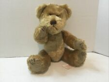 """Santa's Touch Inc Keaton Plush Bear Jointed Light Brown 13"""" Tall - Pre-Owned"""