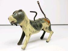 Vintage 1950s Dog Wind-Up Tin Toy Litho Alps Japan