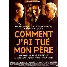 Affiche 40x60cm COMMENT J'AI TUÉ MON PÈRE 2001 Michel Bouquet, Charles Berling