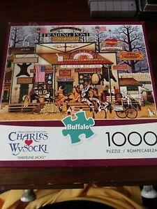 Timberline Jacks by Charles Wysocki 1,000 pcs puzzle Buffalo Games Ages 14+