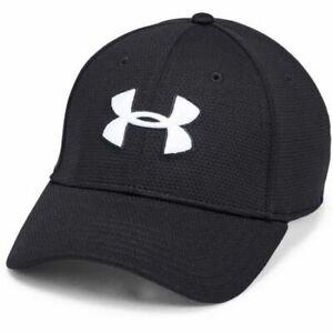 Under Armour Cap Mens UA Blitzing Classic Hat Baseball Cap Black (3 SIZES)