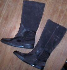 Boots Brown Puma Tall Suede Rudolf Dassler Winter Women size 7.5  New
