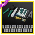Lan Network Cable Tester Crimper Punch Down Tool Stripper Kit CAT5 CAT6 RJ45 NEW