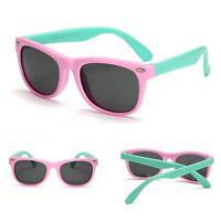 Flexible Kids Cool Sunglasses Polarized Children Baby Sun Glasses UV400 Eyewear