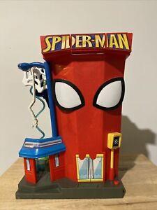 Playskool Marvel Spider-Man Stunt City Talking Playset 2011 Fold Out