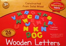 Wooden Alphabet Letters 26 Piece Set Traditional Wooden Toys Wooden Letters GIFT