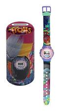 Childrens Trolls Poppy Branch Digital Wrist Watch & Money Box Gift Tin 54885