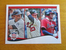 2014 Topps ERROR - NO NAME Freddie Freeman Braves - Michael Cuddyer Rockies