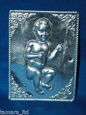 "Tama Ex Voto "" Baby  "" Greek Russian Orthodox Icon Embossed Metal Plaque-TM-005-"