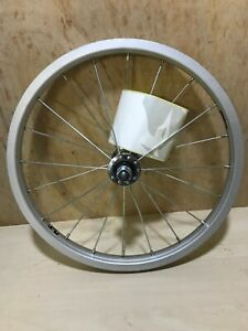 """Raleigh Tru-build Kids Bicycle Front Wheel 16"""" x 1.75"""" Silver RGH710"""