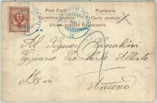 ITALY -  POSTAL HISTORY - Mail sent onboard MILITARY SHIP from CHINA: BOXER WAR?