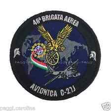 Patch A136 Sala Avionica C-27J – 46' Brigata Aerea Toppa Patch con velcro