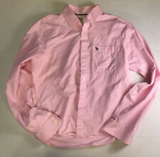 Abercrombie & Fitch Pink Muscle Button Down Shirt Size XXL