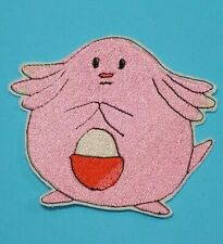 Patch Iron-On Chansey Pig Pokemon Embroidered Applique Patches For Kids