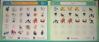 All x36 Shiny Locked Pokemon Home SWSH Shiny Bundle | 6IV | Pokemon Sword Shield