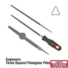 TOLEDO Three square file Smooth - 150mm 12 Pk 06TSQ03BU x12