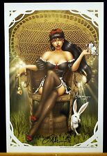 Return to Wonderland Fine Art Print by Billy Tucci & Nei Ruffino Signed!