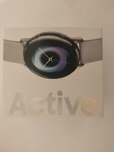 Samsung Galaxy Watch Active 40mm - Silver