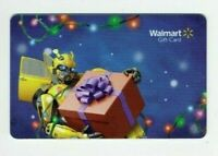 Walmart Gift Card - Transformers, Bumble Bee / Christmas - No Value - I Combine