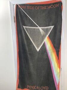 "Rare Vintage Pink Floyd ""Dark Side Of The Moon"" Dye Sublimation Beach/Bath Towel"