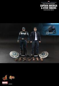 Hot Toys MMS243 Captain America Winter Soldier: Stealth STRIKE Steve Rogers set