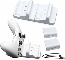 Microsoft Xbox One / One S Dual Charging Station & Two Rechargeable Batteries