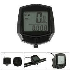Bicycle Bike Computer Speedometer Odometer Meter LCD Waterproof Wired