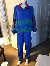 Vintage 90's Mighty Mac Unisex Running, Jogging, Casual Dress Windbreaker Suit