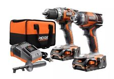RIDGID GEN5X 18V Hammer Drill/Driver And Impact Driver Combo Kit (R9205)