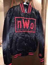 RARE nWo Wolfpack Starter Jacket Size Medium WCW/nWo