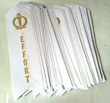 """Effort Award Ribbons (School, Contest, Sports) New! Lot Of 100x White 1.5"""" x 6"""""""